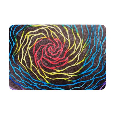 NL Designs Vortex Illustration Memory Foam Bath Rug