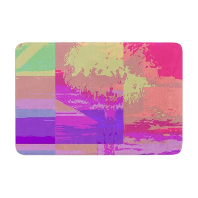 Nina May Impermiate Poster Memory Foam Bath Rug