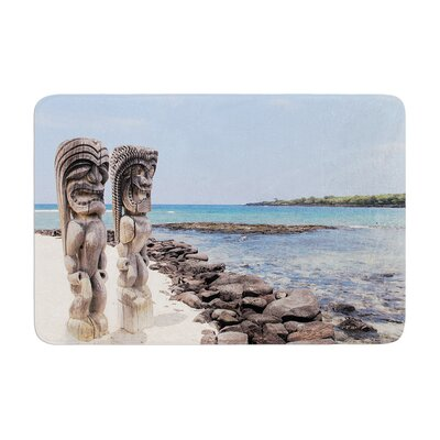 Nastasia Cook City of Refuge Coastal Memory Foam Bath Rug