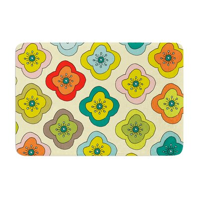 Nicole Ketchum Forest Bloom Memory Foam Bath Rug