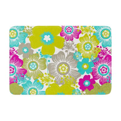 Nicole Ketchum Little Bloom Memory Foam Bath Rug