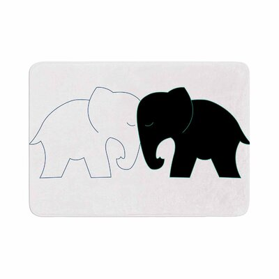 NL Designs and Elephant Love Memory Foam Bath Rug