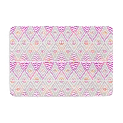 Pom Graphic Design Soft Petal Tribal Memory Foam Bath Rug