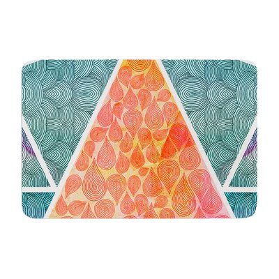 Pom Graphic Design Pyramids of Giza Memory Foam Bath Rug
