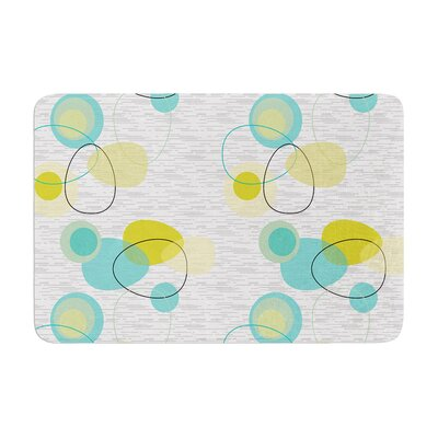 Nina May Vaniretro Memory Foam Bath Rug