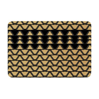 Nina May Deco Angles Memory Foam Bath Rug
