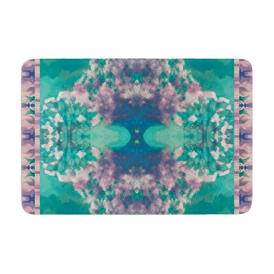 Nina May Ashby Blossom Memory Foam Bath Rug