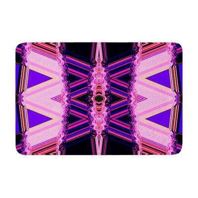 Nina May Decorama Memory Foam Bath Rug Color: Purple