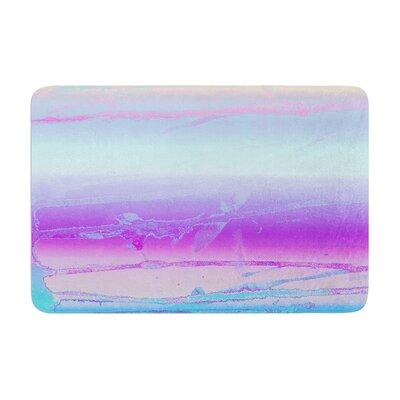 Nina May Drip Dye Cool Memory Foam Bath Rug
