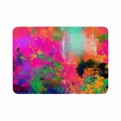 Oriana Cordero Mondrian and Me Squares Memory Foam Bath Rug