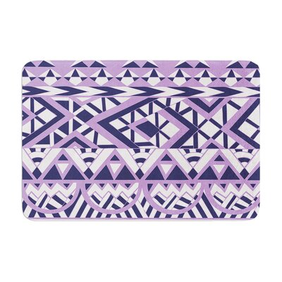 Pom Graphic Design Tribal Simplicity II Memory Foam Bath Rug