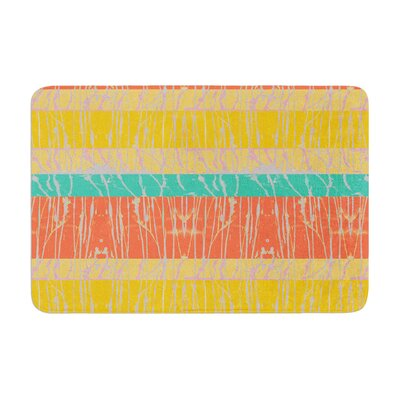 Nina May Desert Splatter Memory Foam Bath Rug