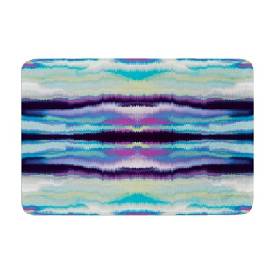 Nina May Artik Stripe Memory Foam Bath Rug