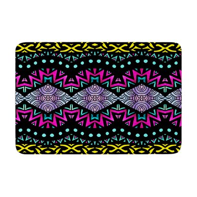 Pom Graphic Design Tribal Dominance Memory Foam Bath Rug