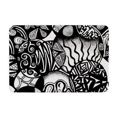 Pom Graphic Design Circles and Life Memory Foam Bath Rug