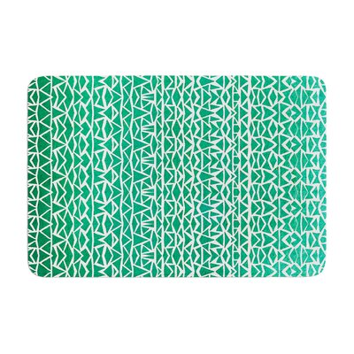 Pom Graphic Design Tribal Forrest Memory Foam Bath Rug