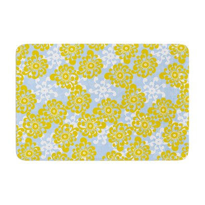 Nandita Singh and Flowers Alternate Floral Memory Foam Bath Rug
