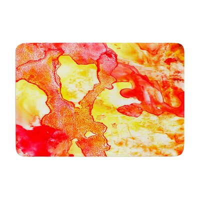 Rosie Hot Hot Hot Memory Foam Bath Rug