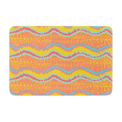 Nandita Singh Waves Memory Foam Bath Rug