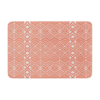 Pom Graphic Design Aztec Roots Tribal Memory Foam Bath Rug