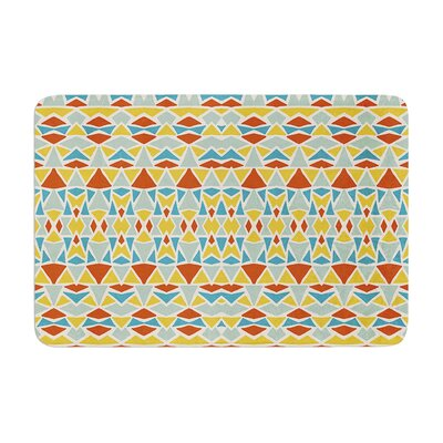 Pom Graphic Design Tribal Imagination Memory Foam Bath Rug