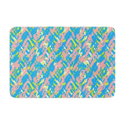Nandita Singh Abstract Print Memory Foam Bath Rug