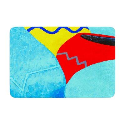 Oriana Cordero Terracotta Memory Foam Bath Rug