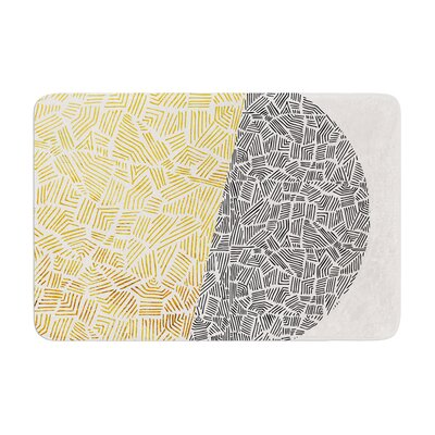 Pom Graphic Design Inca Day and Night Memory Foam Bath Rug