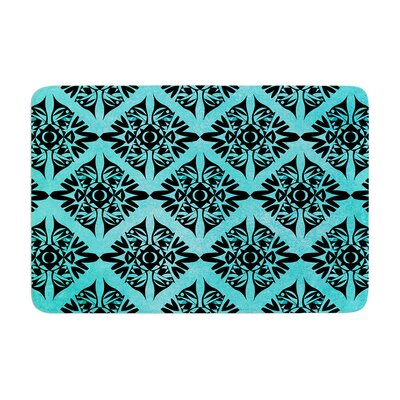 Pom Graphic Design Eye Symmetry Pattern Memory Foam Bath Rug