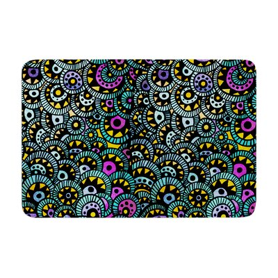 Pom Graphic Design Peacock Tail Memory Foam Bath Rug