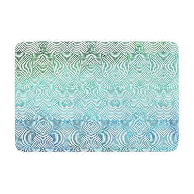 Pom Graphic Design Clouds in the Sky Memory Foam Bath Rug