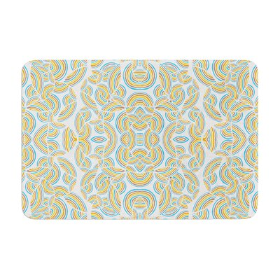 Pom Graphic Design Infinite Thoughts Memory Foam Bath Rug
