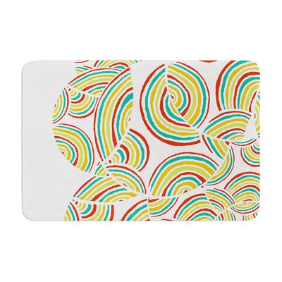 Pom Graphic Design Sky Memory Foam Bath Rug