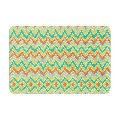 Pom Graphic Design Bright and Bold Memory Foam Bath Rug