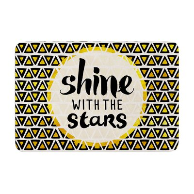 Pom Graphic Design Shine with the Stars Memory Foam Bath Rug