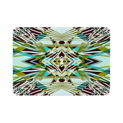 Pia Schneider SWEEPING LINE PATTERN I E4D Abstract Memory Foam Bath Rug