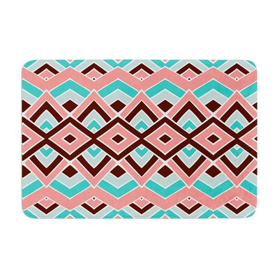 Pom Graphic Design Eclectic Memory Foam Bath Rug