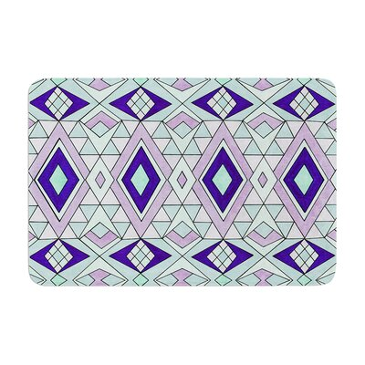 Pom Graphic Design Gems Memory Foam Bath Rug