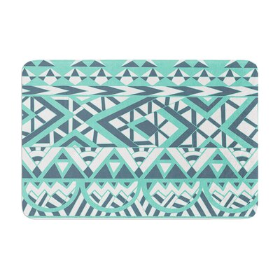 Pom Graphic Design Tribal Simplicity Memory Foam Bath Rug