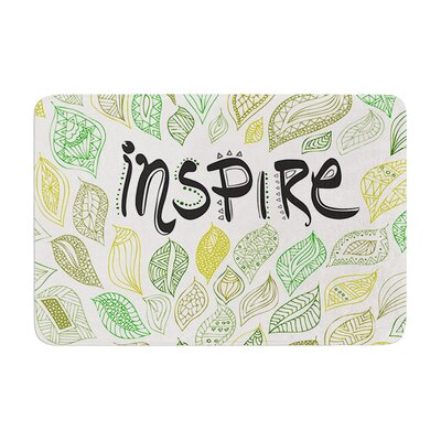 Pom Graphic Design Inspire Nature Memory Foam Bath Rug