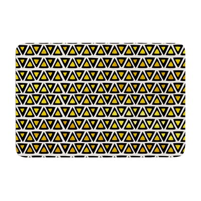 Pom Graphic Design Aztec Triangles Memory Foam Bath Rug