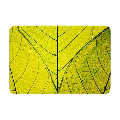 Robin Dickinson Every Leaf a Flower Memory Foam Bath Rug