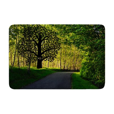 Robin Dickinson Love Nature Forest Memory Foam Bath Rug