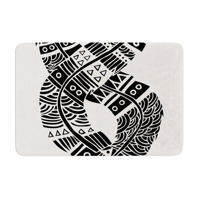 Pom Graphic Design United Love Tribal Memory Foam Bath Rug