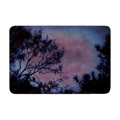 Robin Dickinson Twilight Tree Memory Foam Bath Rug
