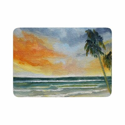 Rosie End of Day Beach Memory Foam Bath Rug