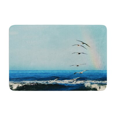 Robin Dickinson Ill Follow Coastal Memory Foam Bath Rug