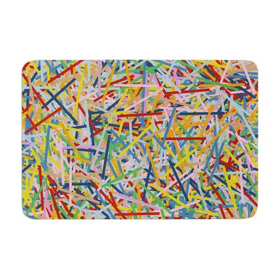 Project M More Sprinkles Memory Foam Bath Rug