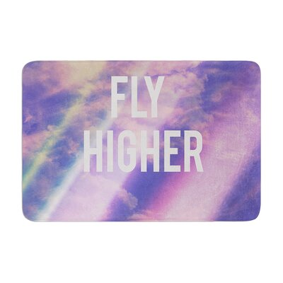 Rachel Burbee Fly Higher Memory Foam Bath Rug