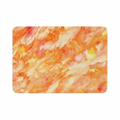 Rosie Autumn Paint Memory Foam Bath Rug